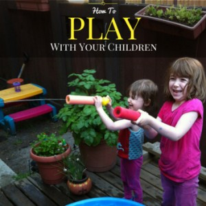 When was the last time you played with your child? I'm not talking about handing your daughter a lump of play dough while you cook supper or the random artillery of questions you fire mindlessly at your son while flipping through a magazine. I'm talking about all out, completely engaged, play. Play is how children explore and make sense of their world. Forgot how to play? Here are some tips on how to play with your children.