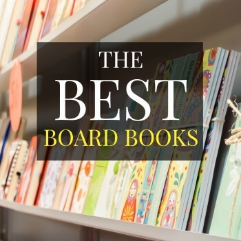 Books for kids! This post contains a list of the best board books for infants and toddlers. Recommendations are made by a former Early Childhood Educator.