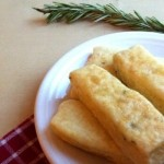 Really Simple Vegan Rosemary Breadsticks