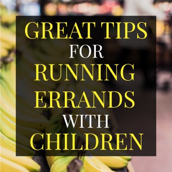 How do you get everything done with a child in tow?! Parenting is far from easy but this advice is great! Check out these 14 great tips for running errands with children.