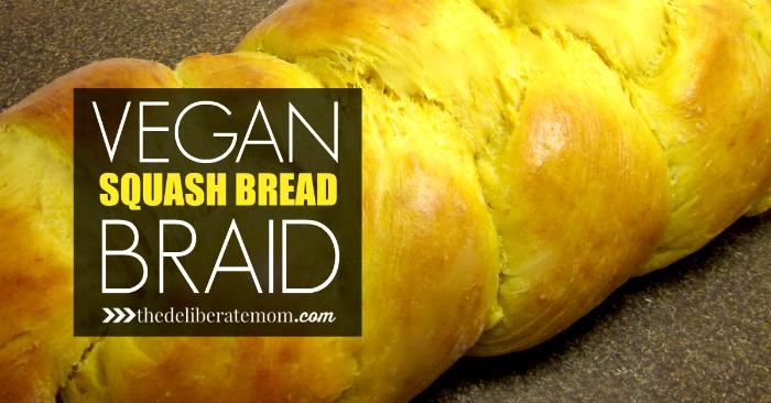 Vegan Squash Bread Braid