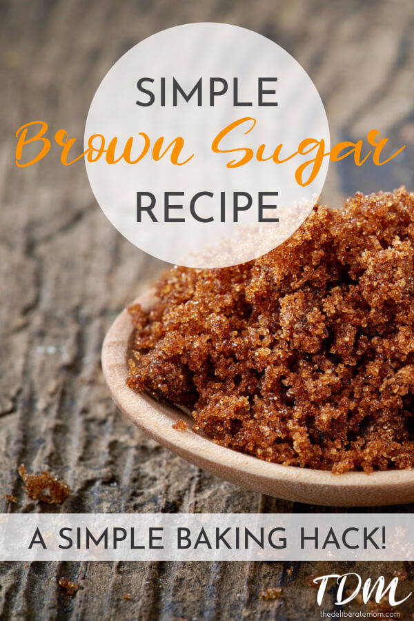 So you're making your favourite recipe and you're missing brown sugar! Don't fear, with this simple baking hack, you'll have brown sugar in no time!