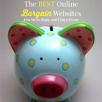 The Best Online Bargain Websites for Mamas