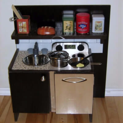 How To Build A Play Kitchen