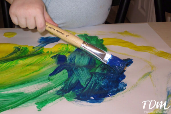 "Painting with young children is a wonderful kids activity. It can be daunting but the preparation and possible 'mess"" are so worth it. Here are some tips to make this experience positive."