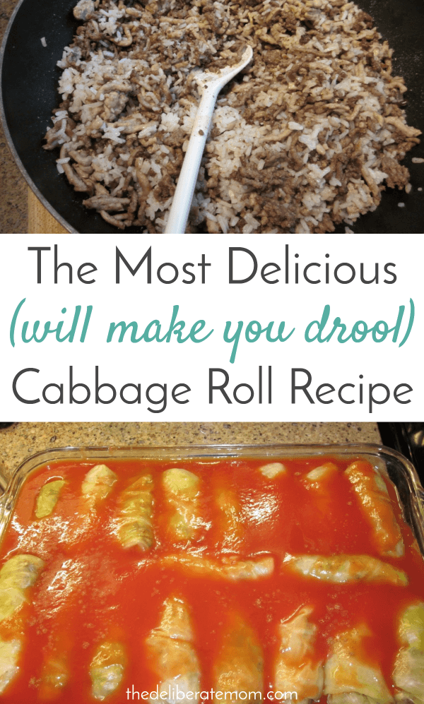 The most delicious, amazing cabbage roll recipe you will ever try. Serve this for Christmas dinner, Easter dinner, or for your Thanksgiving feast!