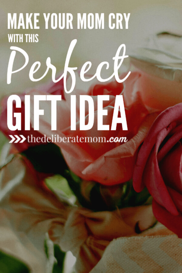 Are you looking for the perfect gift for your mom. You know the gift that makes your mom cry? Check out this suggestion for Mother's Day, your mom's birthday, or Christmas. This gift will surely be a sentimental treasure!
