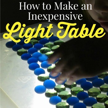 I've always wanted to buy a light table for my daughter. It's such a fun and educational activity for kids. However, light tables can be very expensive. Here is the step-by-step tutorial on how to make your own homemade light table.