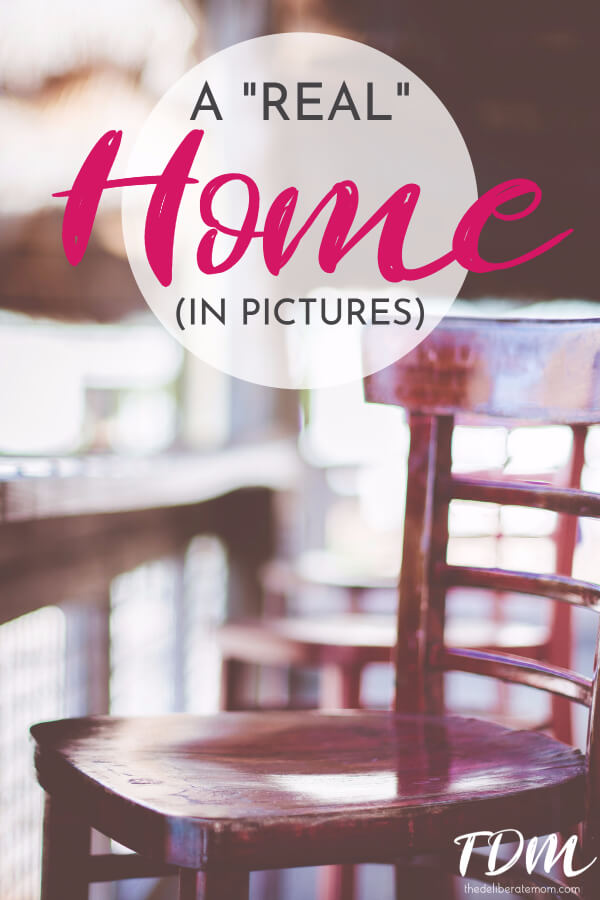"""The Pinterest-perfect home is everywhere. Rarely do you see a home like this one. This is my home. My """"real"""" home. My imperfect home... as evidenced in pictures."""