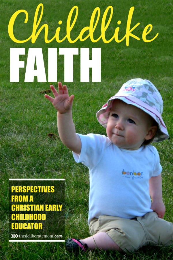 What does it mean to have childlike faith? Come contemplate Mark 10:14-15 from the perspective of a Christian early childhood professional.