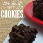 Chocolate Crunchies: The Best Christmas Cookie!