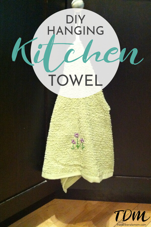 Merveilleux Want A Pretty And Functional Hand Towel For Your Kitchen? Check Out This  Tutorial For
