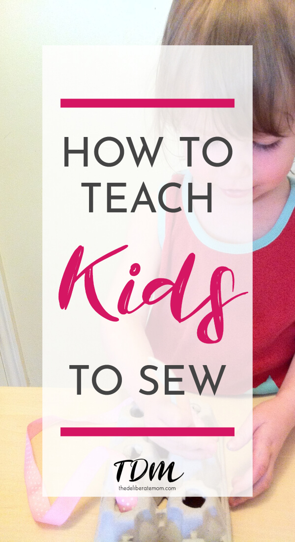 Children CAN learn how to sew! This post includes a variety of activities to introduce the concept of sewing to young children. Teach toddlers and preschoolers how to sew with all of these amazing activities! #teachingkidstosew #sewingforchildren #teachsewing