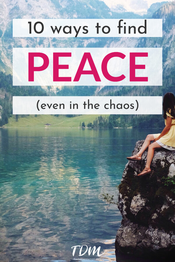 The demands of life can be stressful. Sometimes we need to take a step back and decompress. Here are 10 strategies to find peace in your life. #createpeace #selfcare #mentalhealth