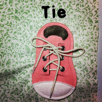 Tying laces page!