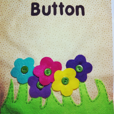 A buttoning activity to work those little fingers!