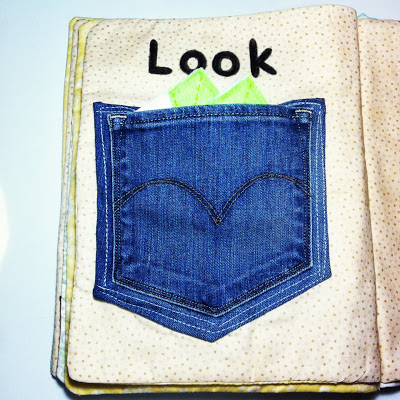 Quiet book - pictures of pages in the book #DIY #sewing