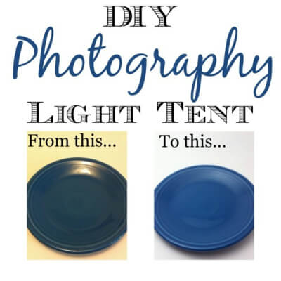 Make Your Own Photography Light Tent
