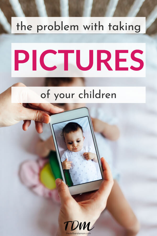 Do  you take pictures of your children? Have you ever considered that there may be a problem with taking so many pictures of your children? Is there really a need for this many pictures?