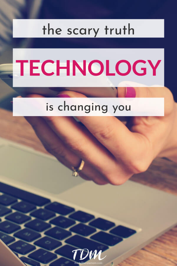 You may not want to admit it, but technology is changing you. Come check out how technology impacts you, your interactions, and your world.