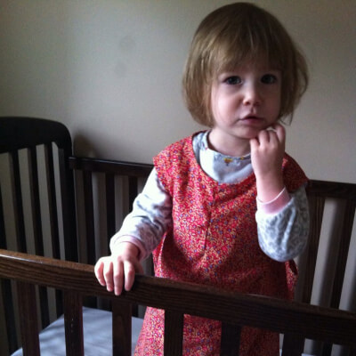 How I Got My Toddler To Keep Her Diaper On