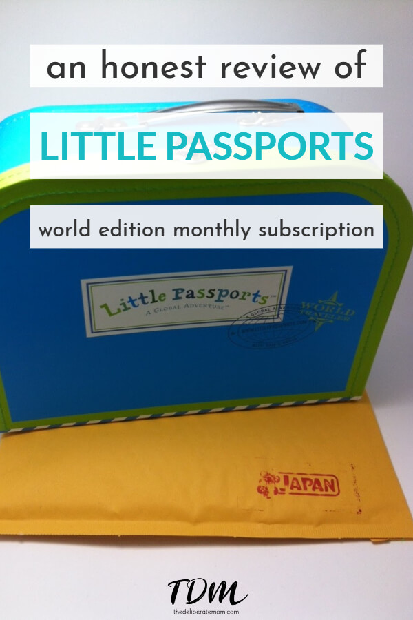 Want to teach your child about the world? Check out the Little Passports subscription! This honest review of Little Passports gives all the details you need to know about this program. #littlepassportsreview #littlepassportssubscription