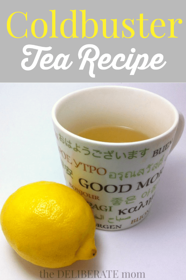 A modification of the Starbucks Coldbuster tea recipe. It's so delicious and better than any over the counter store-bought packaged drink mixes! This is my go-to cold remedy! #coldremedy #naturalhealth #naturalremedy