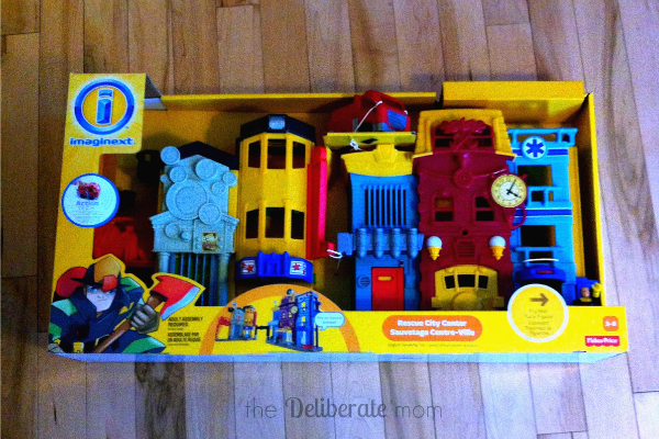 Imaginext Rescue City Center Review and Contest! #ImaginextAdventures