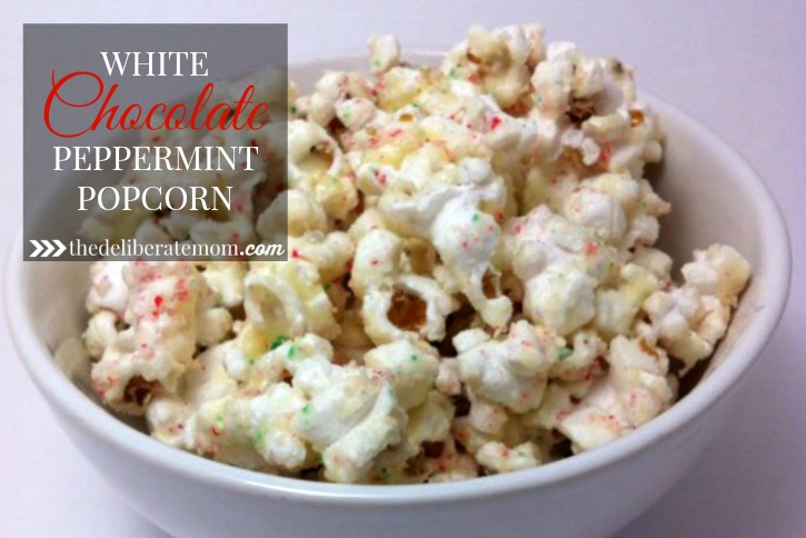 Chocolate Peppermint Popcorn Recipe
