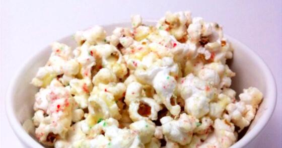 Chocolate Peppermint Popcorn Recipe