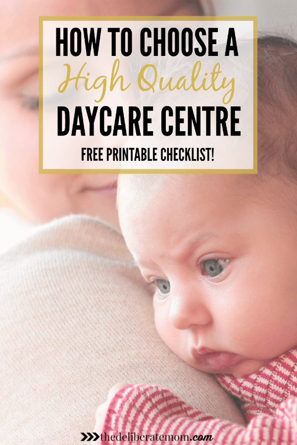 Are you looking for a daycare and you're not sure how or where to start? This article, written by a former early childhood professional with over 20 years of experience, includes all the key indicators of quality child care! Plus, make sure to download the FREE 3 page printable checklist to use when you're on your quest to find a daycare!