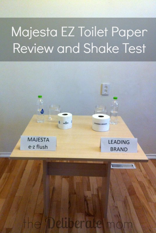 #MajestaEZ Toilet Paper Review and Shake Test