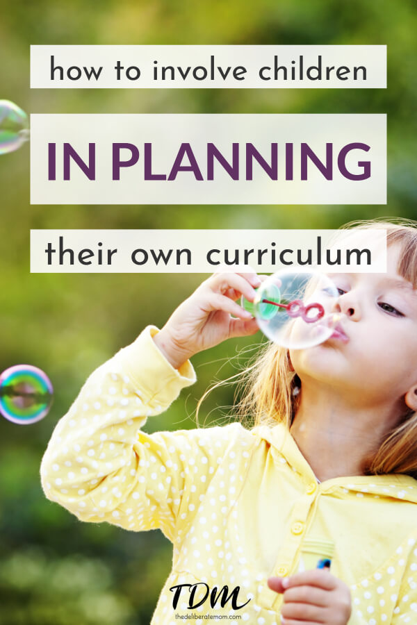 Check out this effective and educational homeschooling practice which will involve children in planning. This post shows how to do it! #homeschoolplanning