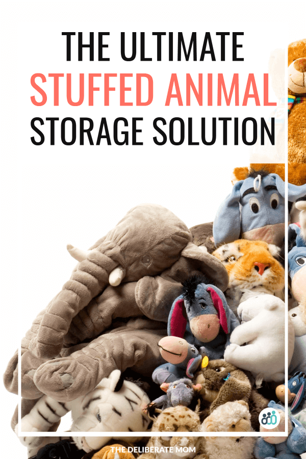 Ultimate stuffed animal storage solution