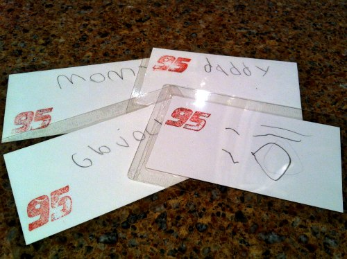 Homeschooling curriculum ideas: making library cards