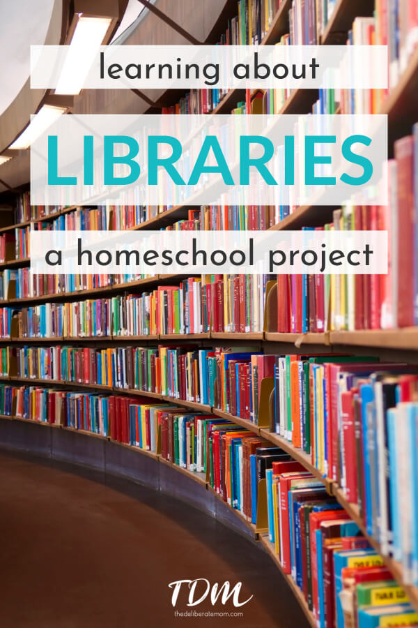 Who would have thought that something my toddler started doing would evolve into a homeschooling project for my oldest daughter? This article is all about the libraries project I carried out with my children. It was a child-inspired learning project... and I loved every bit of it! #homeschooling #homeschoolproject #allaboutlibraries