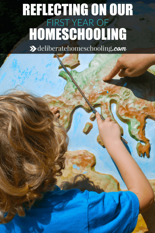 The first year of homeschooling my child was a challenge. Here are the lessons I learned from the first year of homeschooling. There are some great homeschool tips here. #homeschoolhelp #homeschoolinspiration