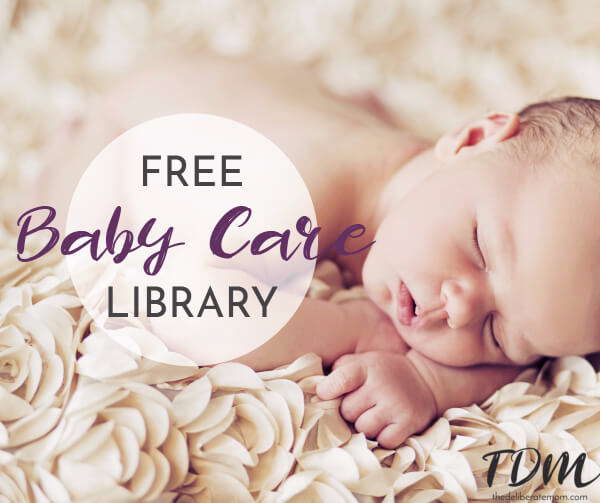 Pregnancy and babies... so much to learn, so much to explore. As an early childhood professional for over 20 years and a mom of two girls, I've had plenty of experience with baby care. This library contains an assortment of articles that have graced the pages of The Deliberate Mom.