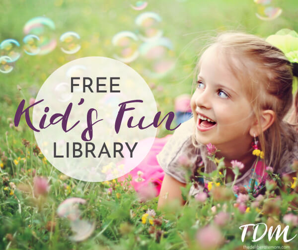 Play is essential for young children. Check out this free kids fun library for loads of inspiring and playful activities for kids.