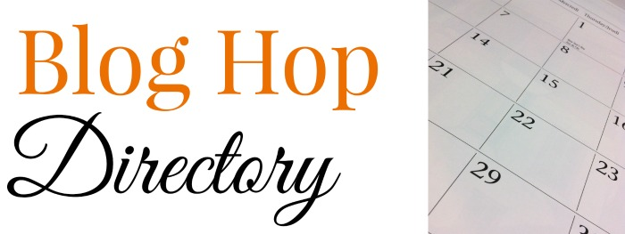 Blog Hops - A directory of blog hops and linky parties #blogging