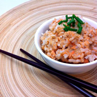Delicious and Easy 3 Ingredient Salmon Rice Recipe