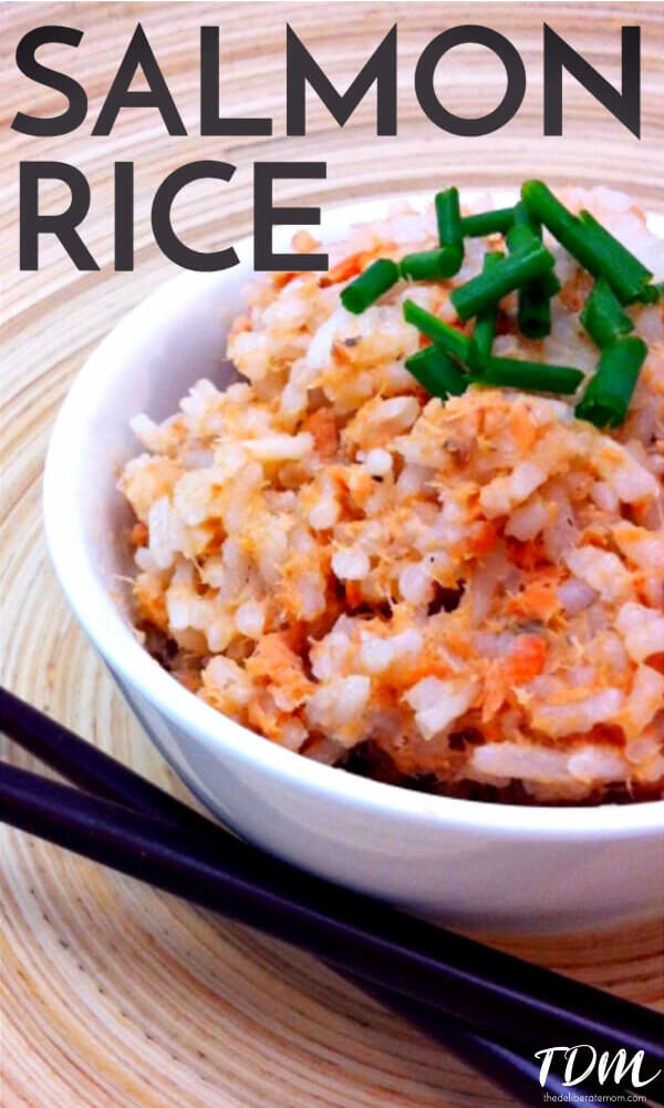 A simple and delicious salmon rice recipe which takes three ingredients and less than half an hour to make. Pairs nicely with most vegetables.