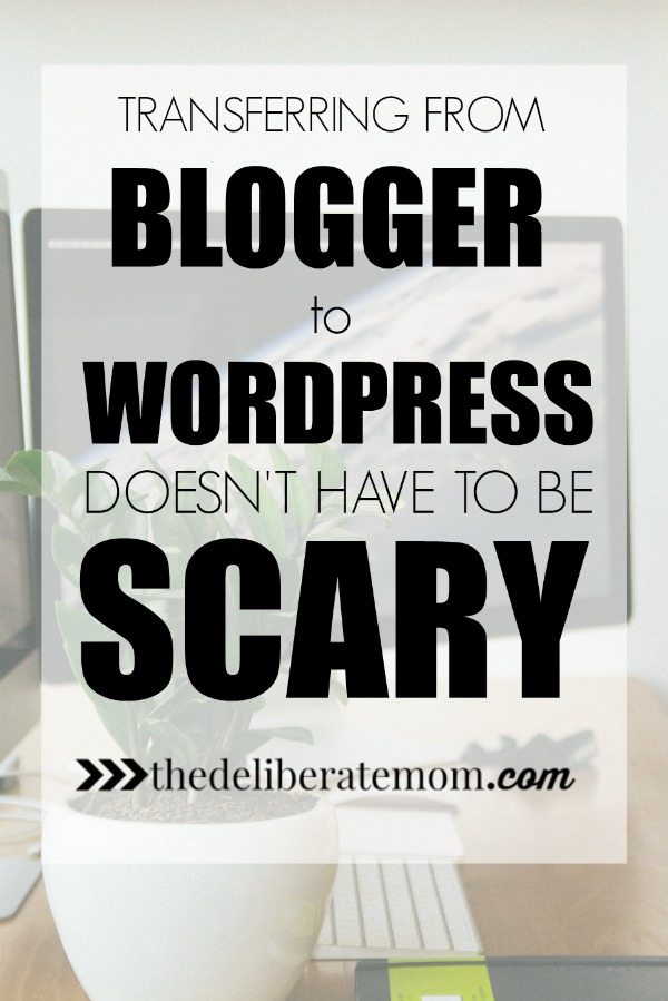 My experience of transferring my blog from Blogger to WordPress. Here are some tips and suggestions I've gotten from this big change and what you can do to prepare yourself for the transfer!