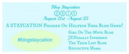 My Blog Staycation
