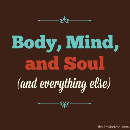 Body, mind, and soul (and everything else)
