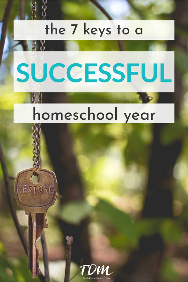 Struggling with homeschooling? Do you need homeschooling tips? Check out these 7 Keys to Homeschool Success. These 7 strategies can make this year GREAT! #homeschooltips #successfulhomeschooling