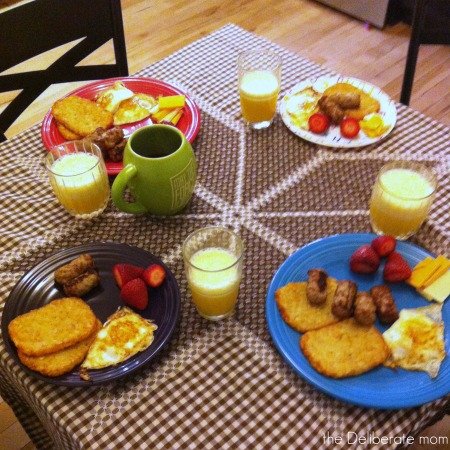 My homeschool day... dinner time! #homeschool #schedule