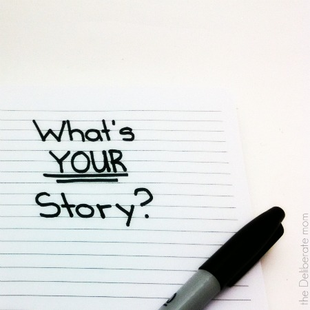 We all have a story to tell. Have you thought about yours? It might motivate someone. It might inspire others to do great things. Don't hold back... tell your story!
