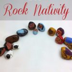 DIY Rock Nativity