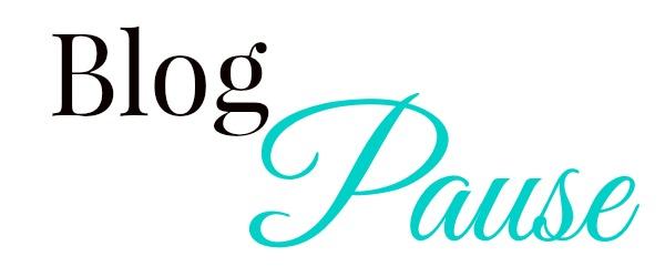Blog Pause - Final